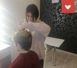 Обучение парикмахеров в Бирском детском доме