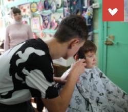 Парикмахеры в СРЦ «Вера»