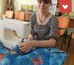 Благодарим компанию «Ювелирочка» за швейную мастерскую в Городецком детском доме Нижегородской области