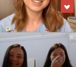 Юлия Савичева провела прямой эфир с нашими подшефными