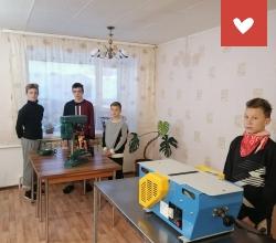 Оборудование столярной мастерской в «Бирском детском доме»