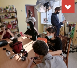 Обустройство фотомастерской в ЦПД «Юность» г. Нариманов