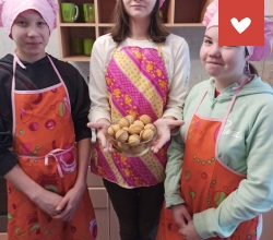 Кондитерская мастерская в «Бирском детском доме» республики Башкортостан