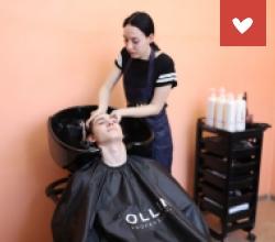 Открытие парикмахерской в ЦПД «Юность» Астраханской области