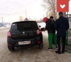 Обучение вождению воспитанников Учалинского детского дома