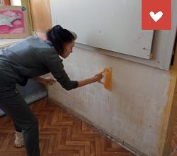 Обучение каменщиков и маляров-штукатуров в «Ченцовском» центре