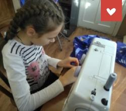 Оборудование швейной мастерской в СРЦ «Вера» Астраханской области