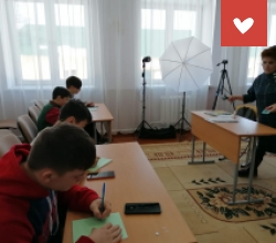 Фотомастерская в Учалинском детском доме республики Башкортостан