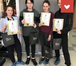 Окончание обучения в школе красоты воспитанниц СРЦ «Возвращение» г. Саратов