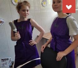 открытие парикмахерской мастерской в ЦПД «Созвездие» г. Астрахань
