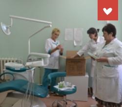 Мы сердечно благодарим сотрудников компании ООО «Рокада-ДЕНТ»