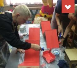 Оборудование столярной мастерской в ЦПД «Ченцовский»