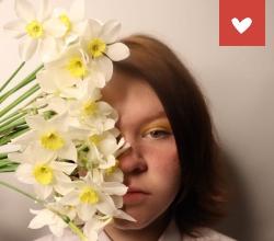 Дети вместо цветов!