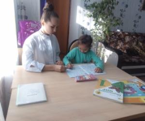 Поможем Кате заниматься в школе