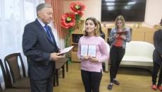 Поздравляем воспитанниц харабалинского центра «Вера»