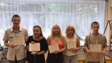 Окончание обучение парикмахеров в Богоявленском детском доме