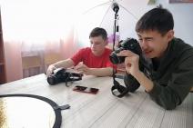 Фотомастерская в Учалинском детском доме
