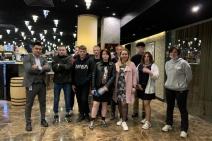 Благодарность участникам Московских каникул