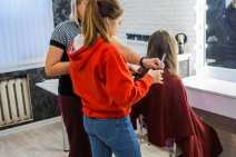 Обучение парикмахеров в центре «Феникс» г. Бирск