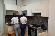 Открытие новой социальной квартиры