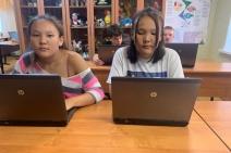 Ребята из Богоявленского детского дома получили ноутбуки