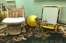 Игровая комната в Вольской детской больнице